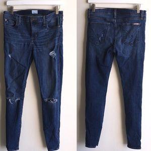 Hudson Jeans- Krista Super Skinny Distressed